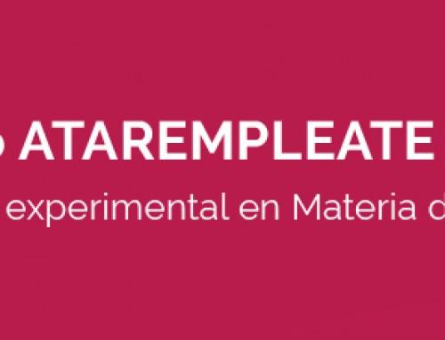 PROYECTO ATAREMPLEATE 2015-2016 (Programa Experimental en Materia de Empleo)