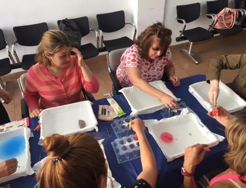 Taller Giro-Arte de Sinpromi en Ataretaco