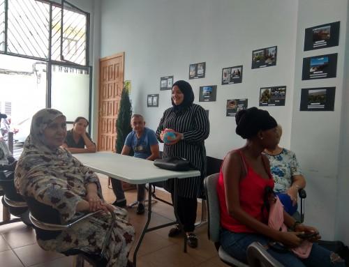Clases de español para personas migrantes en Ataretaco