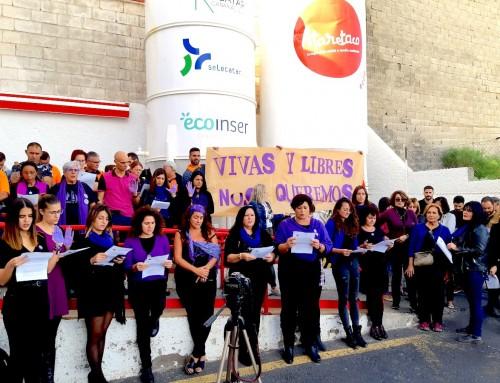 MANIFIESTO de Ataretaco en el Día Internacional por la Eliminación de la Violencia contra las Mujeres, 2019