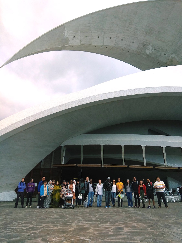Visita al Auditorio de Tenerife