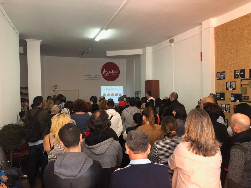 Cierre de actividades formativas en Ataretaco