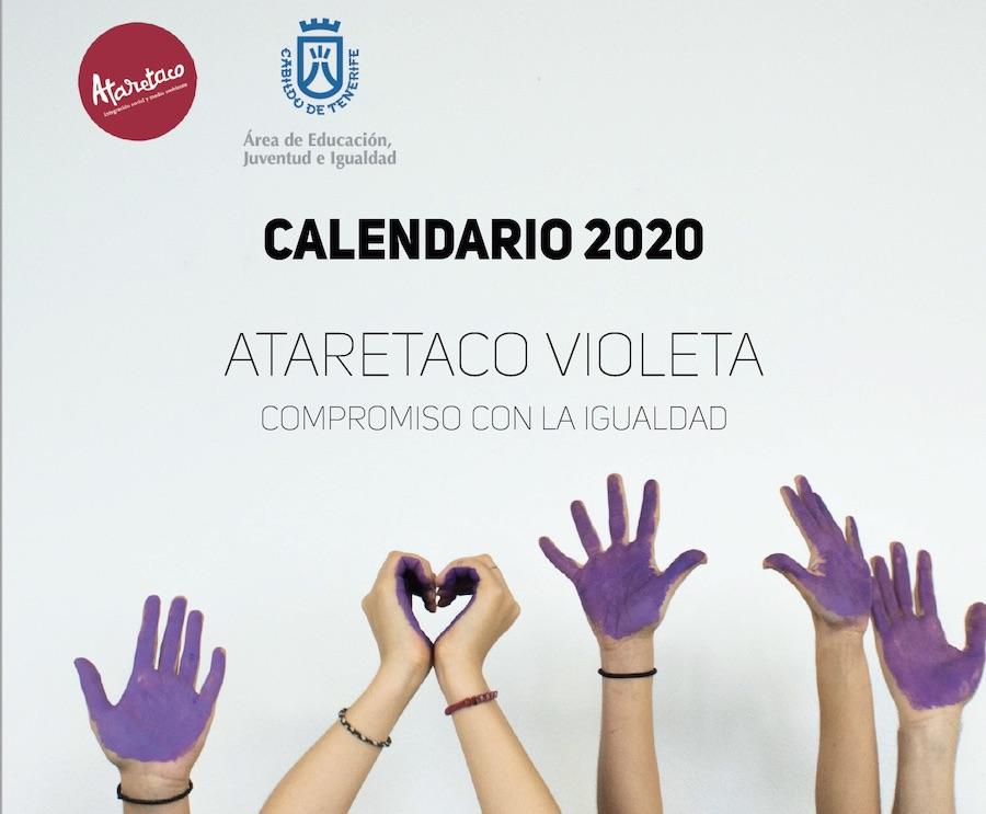 Calendario Ataretaco Violeta, compromiso con la igualdad