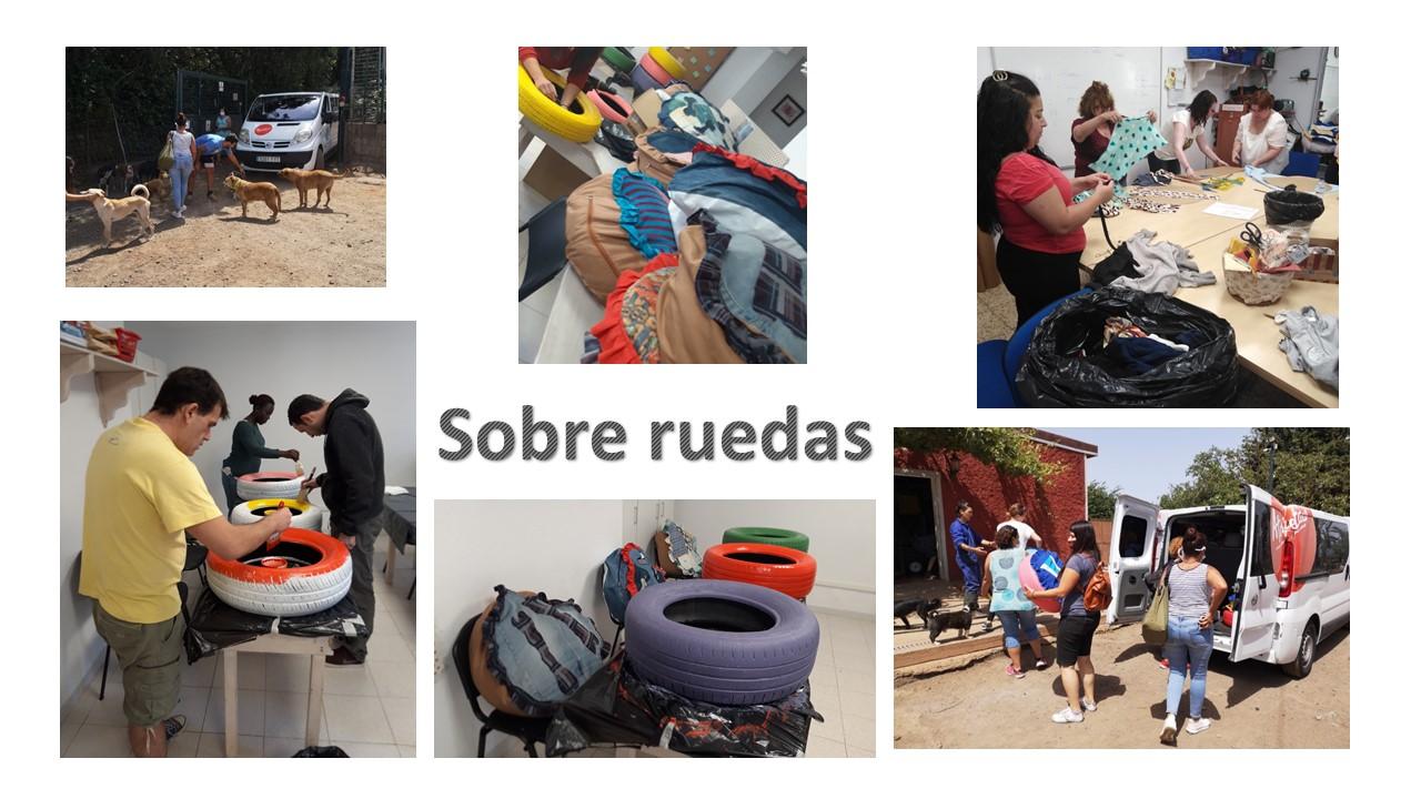 Actividad colaborativa, ambiental y solidaria entre proyectos de Ataretaco