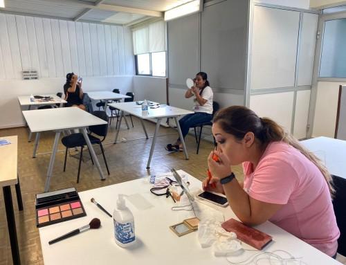Proyecto Lachó Drom de Ataretaco, TALLER BELLEZA REVERSIBLE