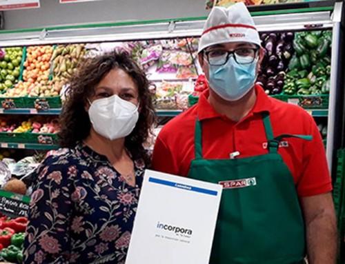 Spar colabora con Ataretaco para la inserción laboral del programa Incorpora