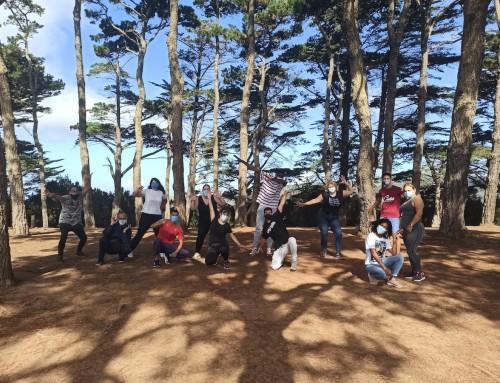 Participantes del Proyecto Descúbrete de Ataretaco vuelven a la naturaleza
