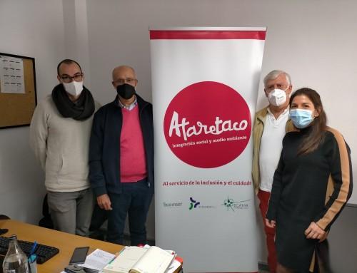 Ataretaco firma el convenio Incorpora con la Fundación La Caixa