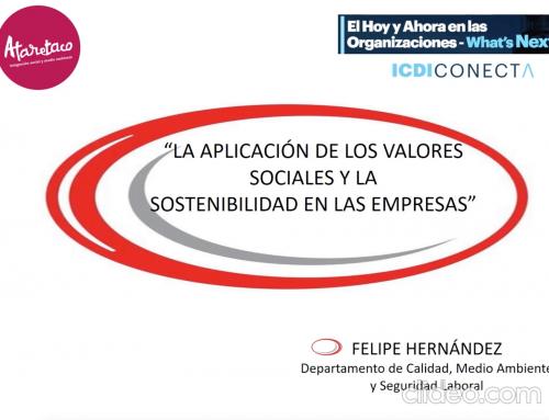 Ataretaco participa en el Encuentro Internacional del ICDI